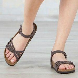 New Birkenstock Bali Leather Sandals Rare 39